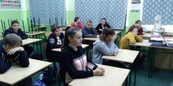 Dzielnicowy w szkole