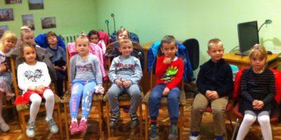 Aktorskie spotkanie z przedszkolakami