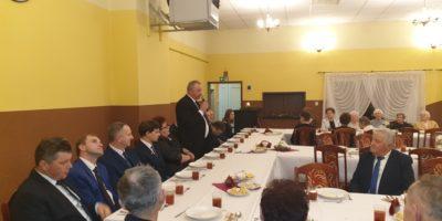 Spotkanie opłatkowe w Komorowie