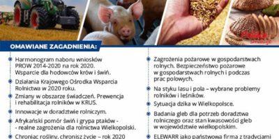 Spotkanie informacyjne dla rolników.